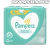 PAMPERS sensitive törlőkendő 4*52db
