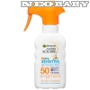 GARNIER Ambre Solaire Kids Sensitive naptej pumpás spray SPF50 200ml