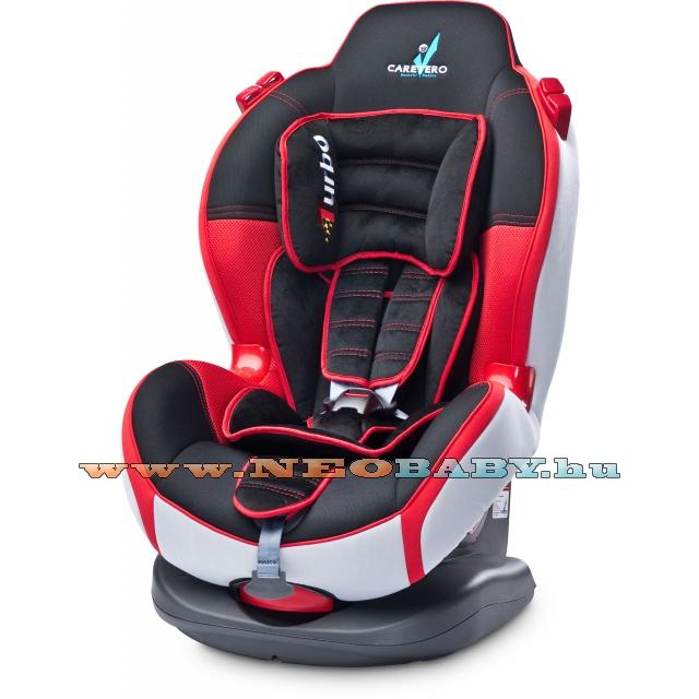 CARETERO Sport Turbo Autós biztonsági gyermekülés 9-25 kg-ig Col.  Red 040eb116e5